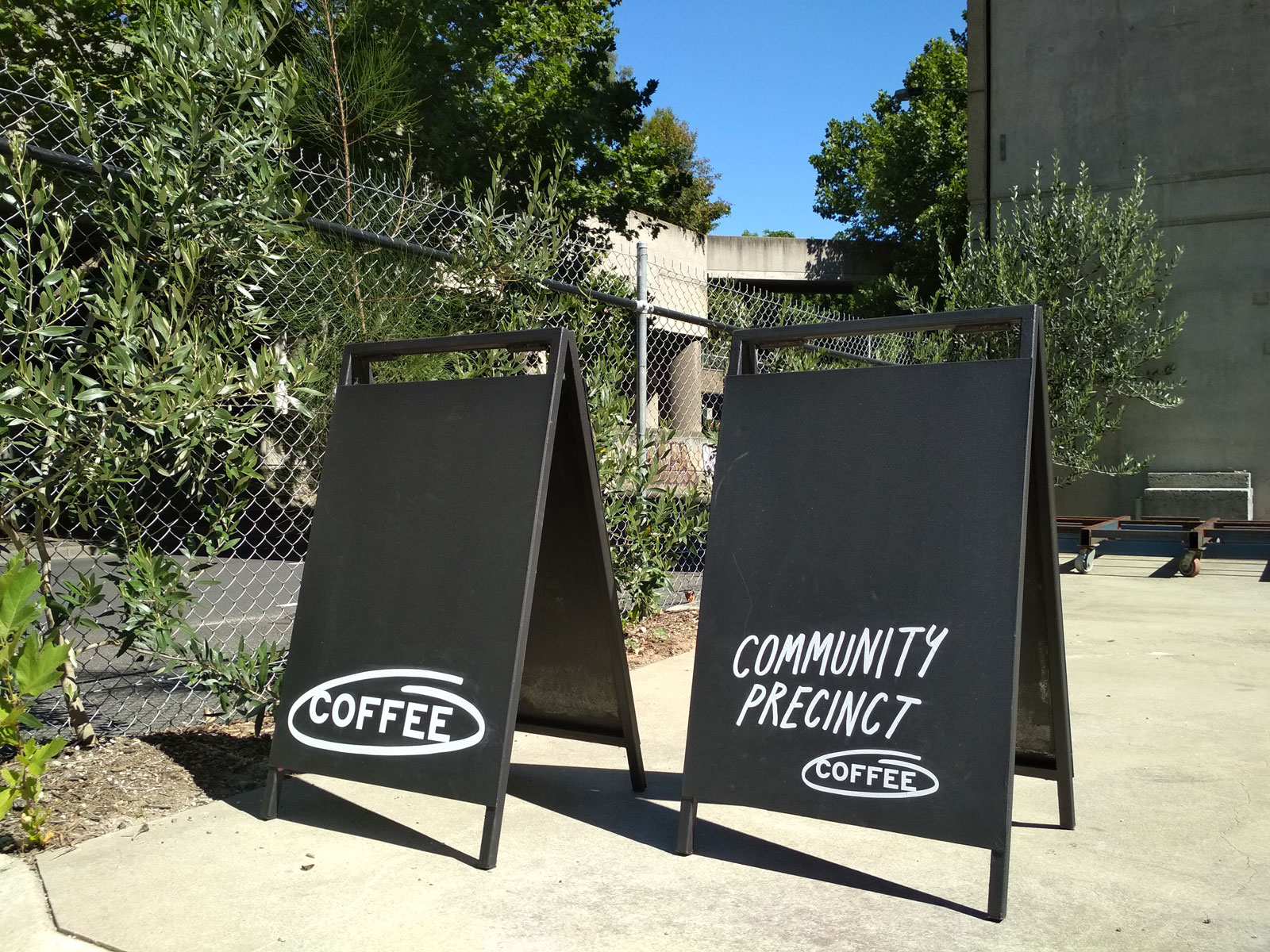 These Are The Projects We Do Together Community Precinct Coffee